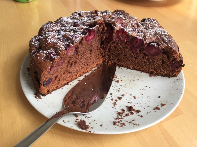 Schoko Kirsch Kuchen 2 Plus 4 Sind Wir